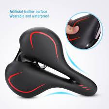 Saddle Light Details About Ultra Light Mountain Bicycle Road Bike Soft Pad Shock Absorption Seat Saddle Usa
