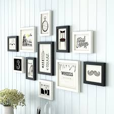 picture frames on wall simple. 11pcs/set Simple Black/White Inset Style Wooden Wall Picture Frame Home Stairs Decor Frames On M