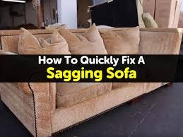 fix sagging sofa