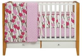bananafish love bird 3 piece crib bedding set to for