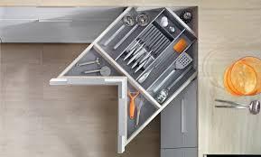 blum drawer hardware. Wonderful Hardware Diagonal Drawers Make The Most Of An Awkward Space Inside Blum Drawer Hardware T