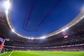 Atletico madrid sold the vicente calderon stadium for €182 million ($200 million). A Stadium Called Wanda Opening Night At Atletico Madrid S New Home Atletico Madrid The Guardian
