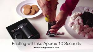 how to fuel the creme brulee kitchen blow torch with ne gas by baking time club