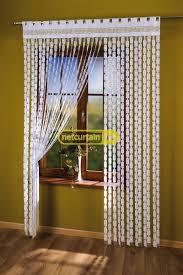 white string curtain panel for the living room width 150 cm length 250 cm n100