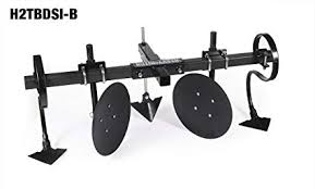 heavy hitch 2 heavy wall steel toolbar with garden bedder hiller cultivator attachments
