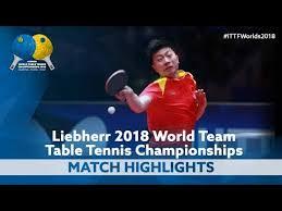 2018 world team championships highlights ma long vs mattias karlsson 1 2 you
