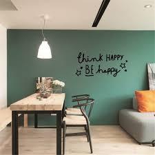 Idfiaf Denken Glücklich Englisch Sprüche Wohnkultur Pvc Wand