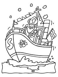 Kleurplaat Boot Sint Kleurplaat Stoomboot Kleurplatenlcom
