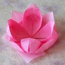 Origami Flower Paper Handmade By Deb Origami Flower Paper Napkin