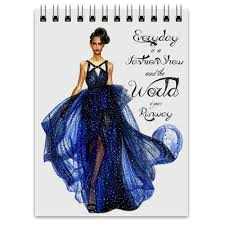 <b>Блокнот Blue fashion</b> dress #474930 от katerinaonuchina