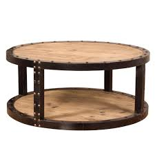 Iron Coffee Tables Aged Wood Black Iron Coffee Table 37179 The Home Depot
