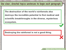 a good persuasive essay good persuasive essay topics to start your  how to write a persuasive essay sample essay image titled write a persuasive essay step 2