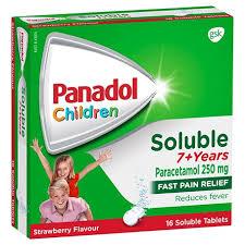 Panadol Tablet Dosage For Child