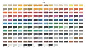 Explanatory Ral Design Colours Chart Timber Colour Chart Ral