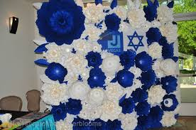 Paper Flower Backdrop Rental Jcc Bnai Mitzvah Showcase 2019 Jewish Nevadas Paper