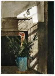 Andrew Wyeth   Bird In The House (1984)