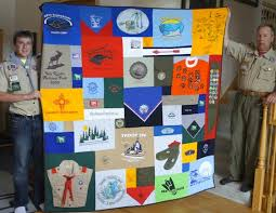 Boy Scout T-shirt Quilts &  Adamdwight.com