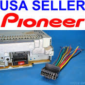 radio plugs pioneer radio wire harness stereo plug 16 pin back clip