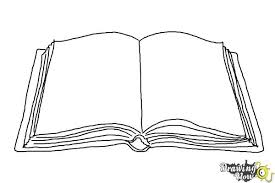 how to draw an open book step 6