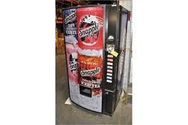 Snapple Vending Machine Extraordinary MR NATURAL SNAPPLE VENDING MACHINE SN A48