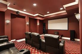 Theater room lighting Soffit Home Theater Color Scheme Occasionsto Savor Guest Post How To Choose Color Scheme For Your Home Theater