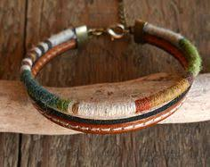 Men's Leather Bracelets, Men's Jewelry, Gifts for Dad, Graduation ...