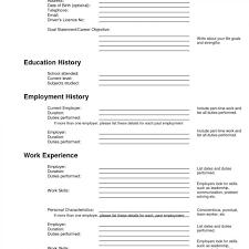Resume Forms Online Free Resume Templates 100 Professor Online Prin Sevte 34