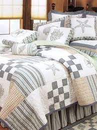 Best 25+ Coastal bedding ideas on Pinterest | Coastal bedrooms ... & Hightide Shells Bedding is a coastal bedding set that will look fantastic  in a cottage style home. This seashell bedding is a must see! Adamdwight.com