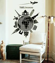 TRAVEL BACKGROUND PVC Wall Sticker Home Decor Creative Quote Wall ... via Relatably.com