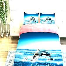 cool shark bedding full comforter set dolphin twin promotion for shark bedding single duvet cover comforter set full
