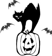 halloween cat clipart black and white. Halloween Cat Black And White Clipart To