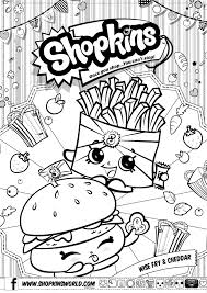 Shopkins Coloring Pages Printable Free Shopkins Coloring Pages