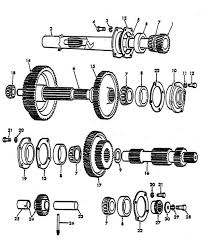 three speed transmission parts for ford 9n 2n tractors 1939 1947 3 speed transmission ford 9n 2n 1939 1947