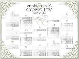 Free Printable Seating Chart Awesome Free Wedding Reception Seating Chart Template Juanmarinco