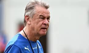 Ottmar Hitzfeld Switzerland's German coach, Ottmar Hitzfeld, oversees a training session in Porto Seguro on Friday. - Ottmar-Hitzfeld-011