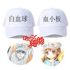 <b>Anime Hataraku Saibou</b> Cells At Work Baseball <b>Cap</b> Platelet ...