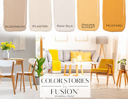 March Fusion Mineral Paint Color Story