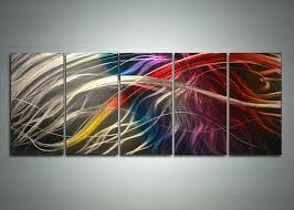 colorful metal wall art pleasing designs for modern decor co  on colorful metal wall art decor with colorful metal wall art modern expressionist artwork artist painting