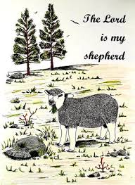 The Lord Is My Shepherd Adult Coloring Page Favecraftscom