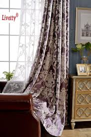 Purple Curtains For Living Room Popular Drapes Purple Buy Cheap Drapes Purple Lots From China