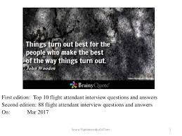 interview questions flight attendant 88 flight attendant interview questions and answers attendants