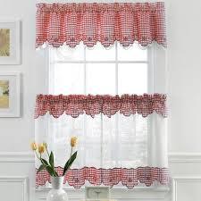 checd kitchen curtains ideas