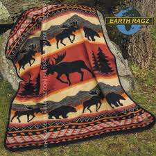 Moose Blankets And Throws