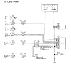 03 05 wiring help aftermarket stereo subaru forester owners forum don t know if this will help but this is the wiring diagram for a 1999 2002 forester probably similar hope it helps