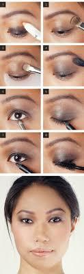 bronze smoky eyes brown eyeshadow tutorials for a more look