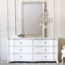 two tone furniture painting. Eloquence® Bordeaux Dresser In Silver/Antique White Two-Tone Two Tone Furniture Painting
