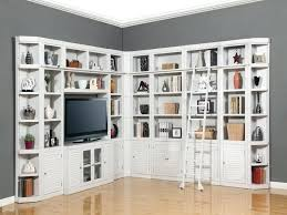 library unit furniture. White Library Shelves Wall Units Bookcase Unit Home Bookcases Furniture Nice Built In