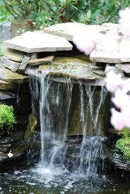 stone landscape waterfall