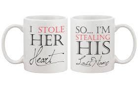 couple mug honeymoon gift