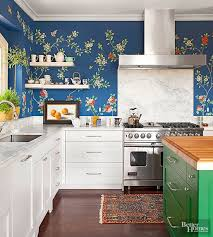 Nice 16 Creative Ways To Use Wallpaper In The Kitchen Awesome Design